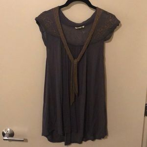 Anthropologie beaded tank tops